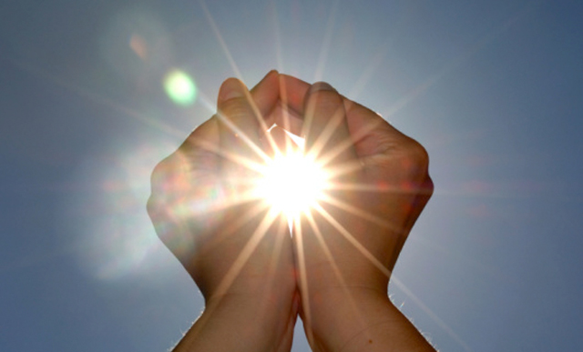 luce solare